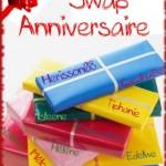 Swap Anniversaire – Valérie