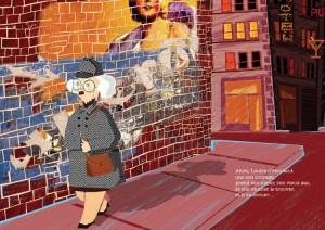 Louise de NY la détective page intérieure