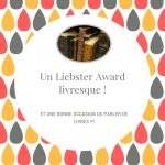 Liebster Award Livresque – Kézaco ?