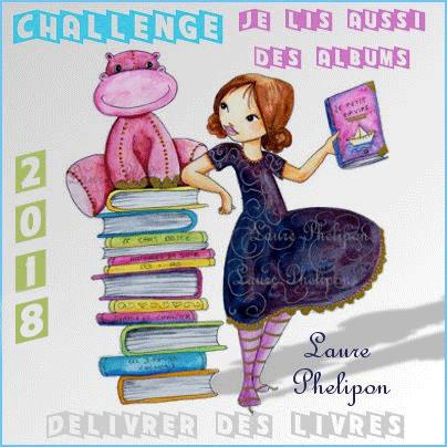 Challenge En 2018 je lis aussi des albums