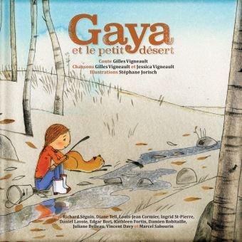 Gaya et le petit désert – Livre CD écolo !