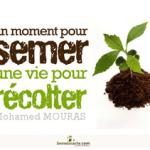 Un moment pour semer, une vie pour récolter de Mohamed MOURAS