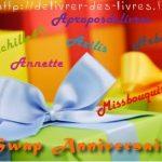 Swap Anniversaire – 2012 – Achille49