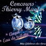 Résultats Concours 6 Thierry Mugler