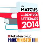 Match de la rentrée littéraire 2014 avec Priceminister