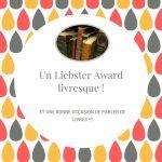 Liebster Award Livresque – Kézaco ?