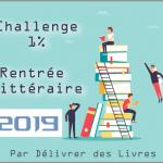 Challenge 1% Rentrée Littéraire 2019