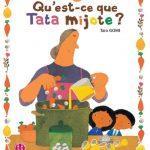 """Qu'est-ce que tata mijote?"" de Taro Gomi"